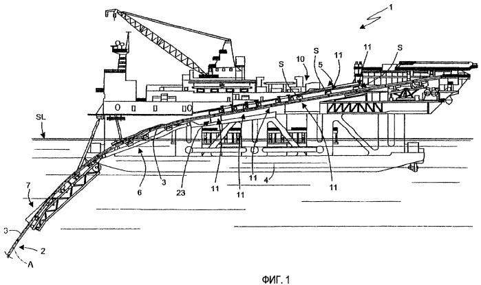 Способ соединения труб, устройство для создания подводных трубопроводов и судно для укладки подводного трубопровода, содержащее указанное устройство