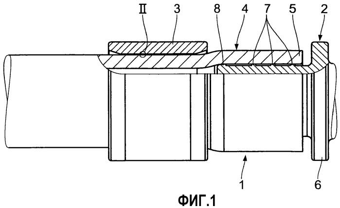 Пластмассовая скользящая втулка, а также соединительный фитинг с такой скользящей втулкой