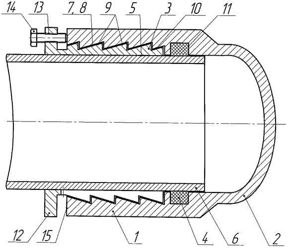Заглушка для герметизации труб