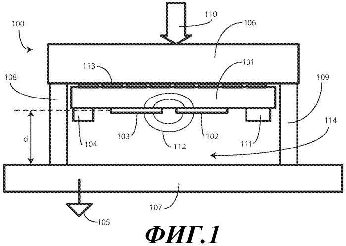 Односторонний емкостной датчик усилия для электронных устройств