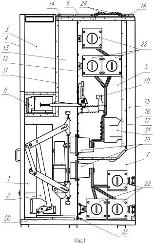 Шкаф комплектного распределительного устройства