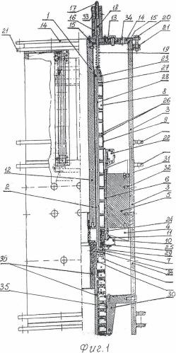 Линейный цилиндрический электромагнитный двигатель