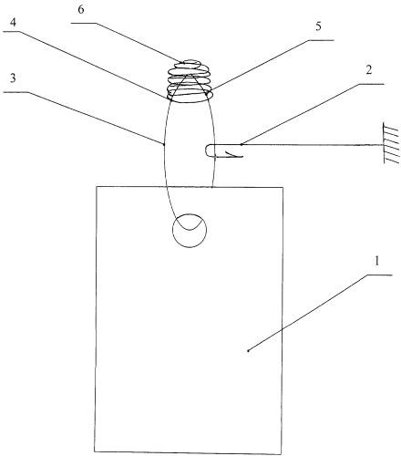 Рыбацкое грузило-отцепляйка для заглубления приманки