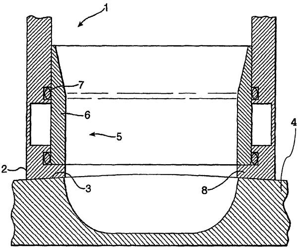 Способ и устройство для формования замороженного аэрированного продукта