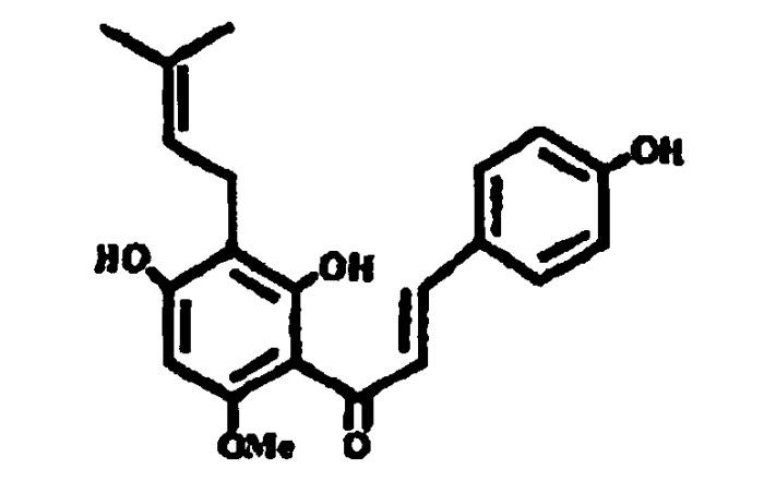 Применение ксантогумола и изоксантогумола в качестве активного вещества для профилактики и/или борьбы с заболеваниями печени