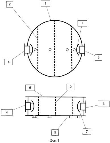 Способ организации разделения жидкостных эмульсий и устройство для его осуществления