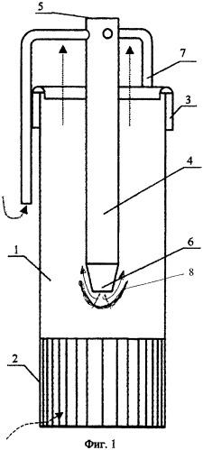 Центробежный сепарационный элемент