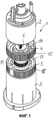 Устройство для механического реверсирования вращательно-подвижной управляющей детали садового оросителя