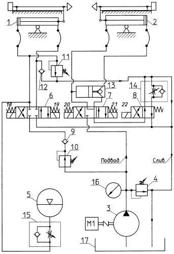 Гидравлическое зажимное устройство разматывателя рулонов полосы