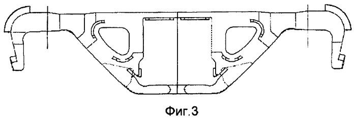 Способ изготовления цельного стержня для надрессорных балок и боковых рам железнодорожных грузовых вагонов или платформ