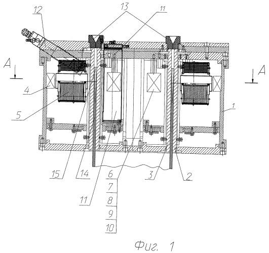 Кристаллизатор машины полунепрерывного литья металлических трубных заготовок