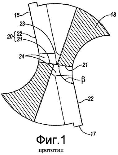Сверло для вырезания отверстия с плоским основанием