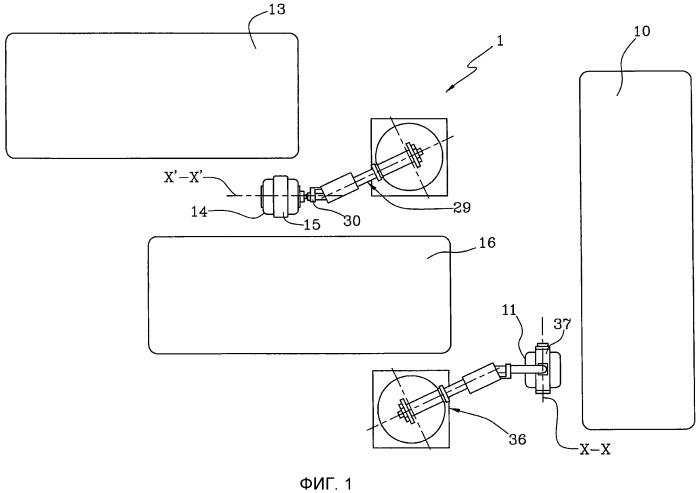 Способ и устройство для сборки шин