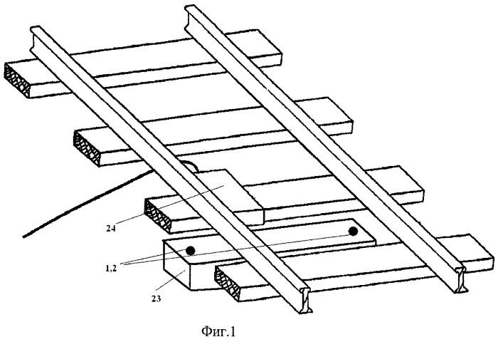 Путевое устройство для преобразования механической энергии в электрическую