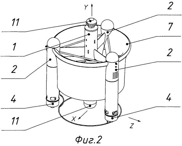 Малоразмерный беспилотный летательный аппарат вертикального взлета и посадки (мбла ввп)