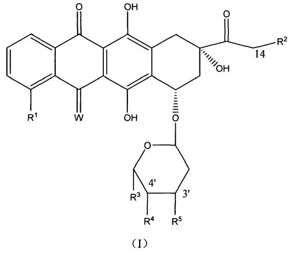 Тетрациклические антибиотические производные антрахинона с высокой активностью, способ их получения и их применение