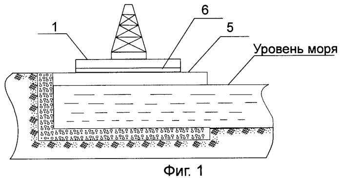 Способ строительства, транспортировки и монтажа верхнего строения на опорной части морского нефтегазопромыслового сооружения на мелководной акватории