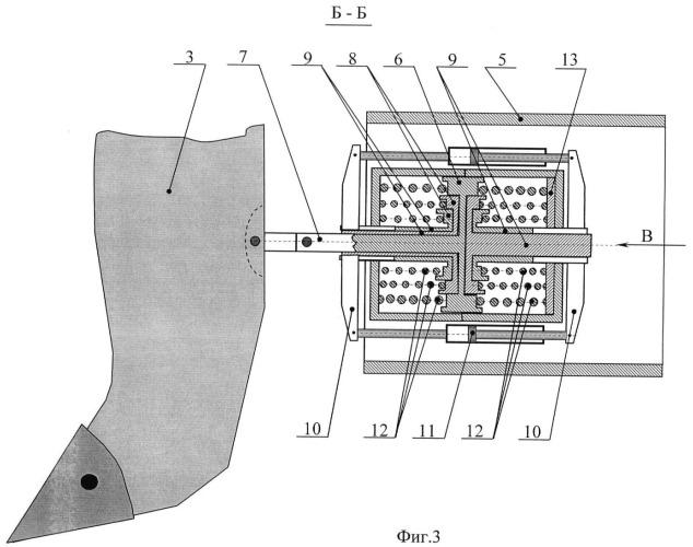 Рыхлитель с пружинным аккумулятором энергии двухстороннего действия