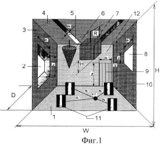 Звукопоглощающая конструкция цеха