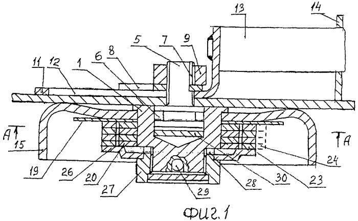 Универсальный кодовый замок со съемным механизмом кодирования