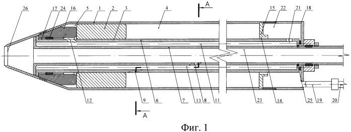 Пневматическое устройство ударного действия для образования скважин в грунте