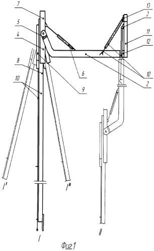 Бурильный модуль стволовой бурильной установки