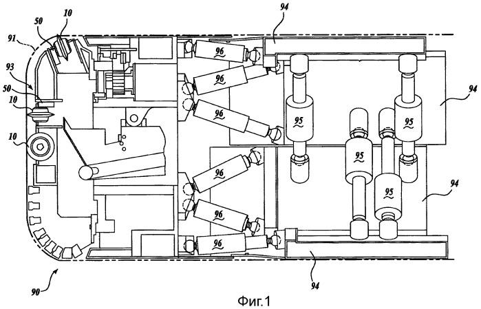 Устройство и способ для мониторинга эффективности проходки туннеля