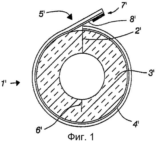 Конструкция и способ выполнения шва для трубной изоляции