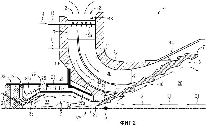 Способ увеличения размера горелки и изменяемая по размеру огнеупорная амбразура в горелке