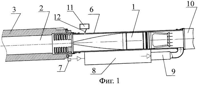 Способ заряжания снаряда в камору ствола артиллерийского орудия и устройство для его осуществления
