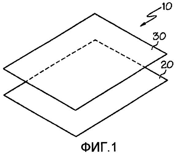 Многослойная конструкция с изображением