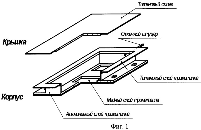 Герметичный корпус прибора