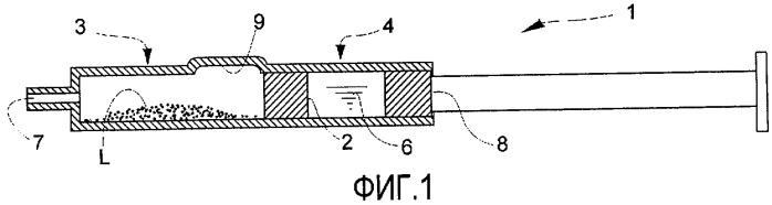 Суспензия для визуализации прозрачной ткани в глазу