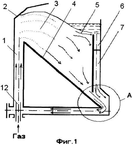 Способ подачи гранулированного материала