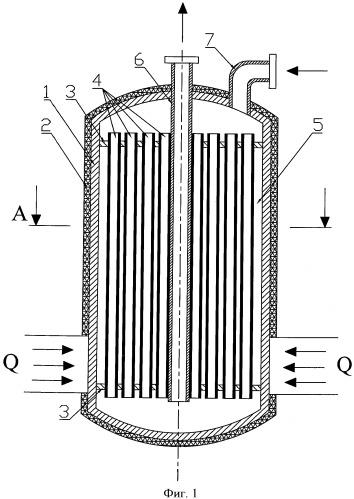 Реактор для проведения газофазных каталитических реакций (варианты)