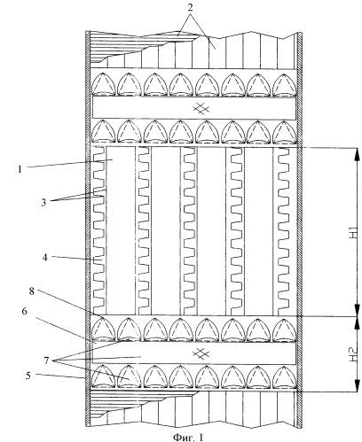 Регулярная насадка для тепло- и массообменных аппаратов