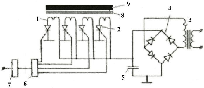 Устройство возбуждения ультразвуковых волн