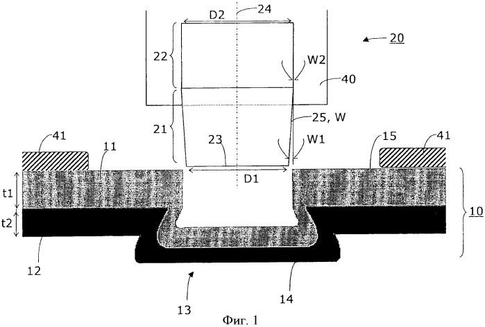 Способ изготовления обладающего несущей способностью стального конструктивного элемента клинчеванием металлических деталей, инструмент для клинчевания и стальной конструктивный элемент