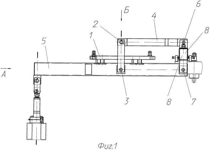 Механизм качания кристаллизатора машины непрерывного литья заготовок