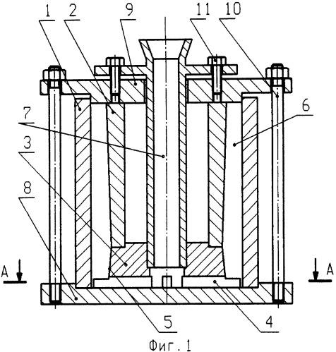 Способ и кокиль для отливки гильзы кристаллизатора