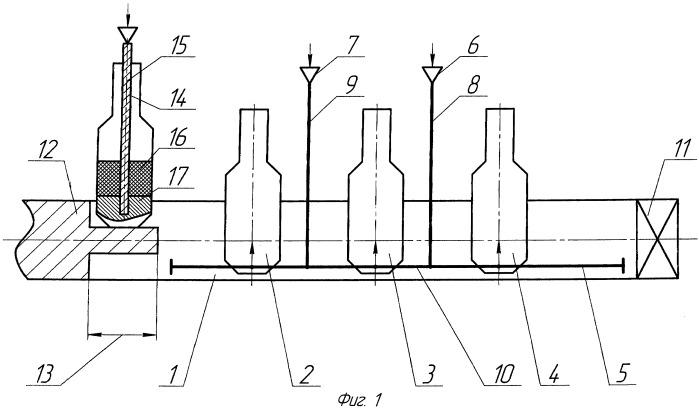 Способ производства литого расходуемого электрода