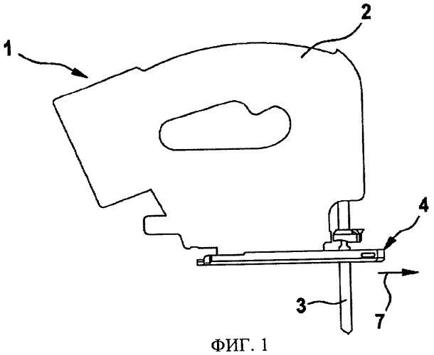Механическая пила с возвратно-поступательным движением пильного полотна, прежде всего лобзиковая пила