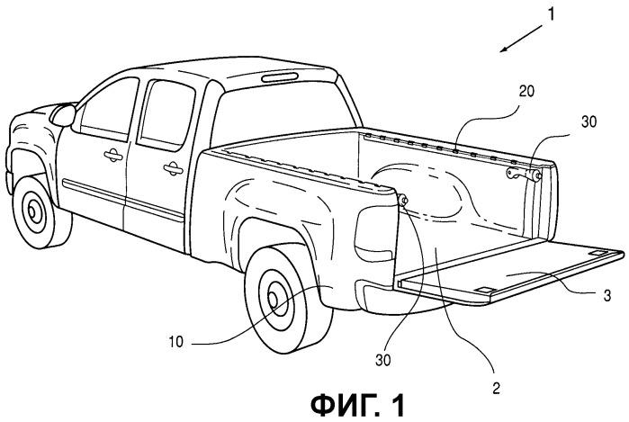Система распределения груза для грузовых автомобилей типа пикап