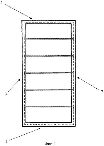 Способ фиксации предметных стекол в кассете