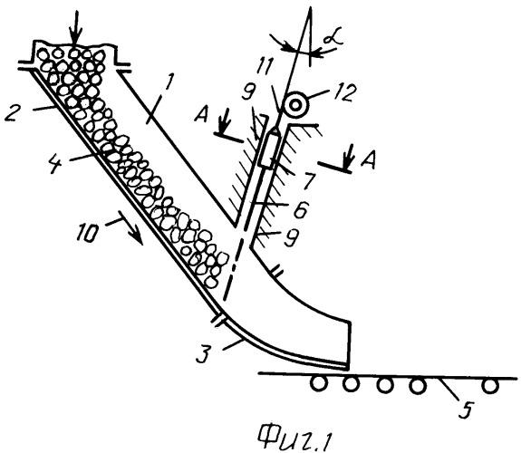 Устройство для перегрузки горной массы с технологического оборудования на ленточный конвейер
