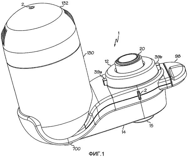 Устройства и способы смонтированных на водопроводном кране фильтровальных систем