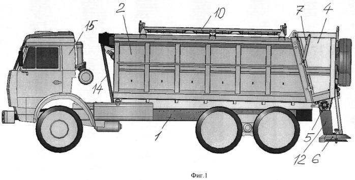 Кузов-бункер грузового автомобиля