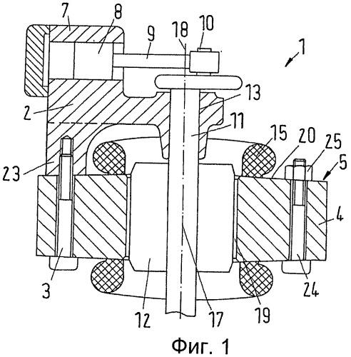 Компрессор и способ установки компрессорного блока на статор