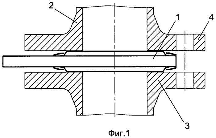 Уплотнительная прокладка для герметизации фланцевого соединения