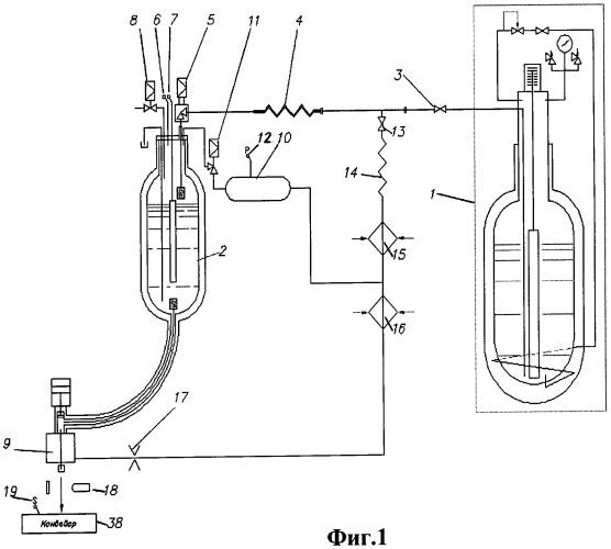 Установка дозированной инжекции криогенной жидкости и система управления для нее